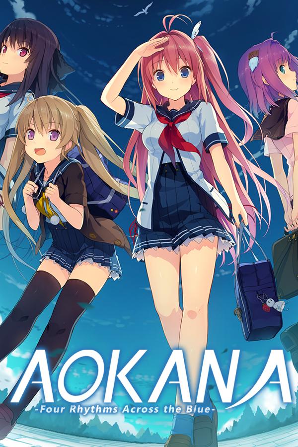 """Featured image for """"Aokana - Four Rhythms Across the Blue"""""""